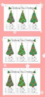 twinkl resources tree counting worksheets