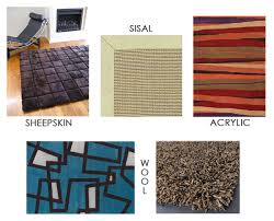 Area Rug Materials Materials Of An Area Rug Inmod Style
