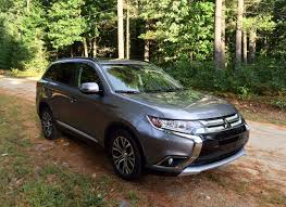 mitsubishi crossover interior review 2016 mitsubishi outlander shows off an improved interior
