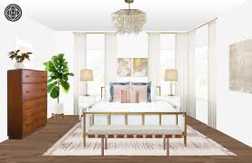 contemporary modern glam bedroom design by havenly interior