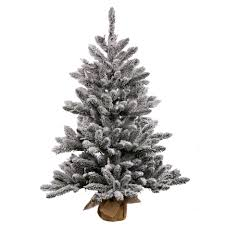 decoration ideas small frosted artificial tree designed