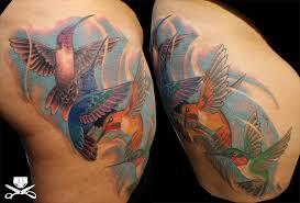 thigh tattoo hautedraws