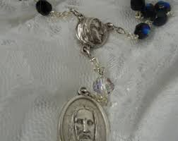 Chaplet Of The Holy Face Holy Face Rosary Etsy
