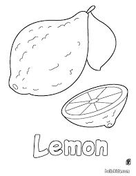 free printable lemons fruit coloring books for kids printable