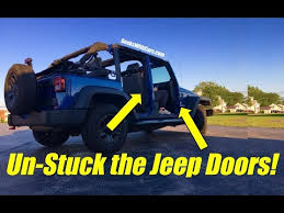 how to take doors a jeep wrangler trouble taking jeep wrangler unlimited doors jeep wrangler