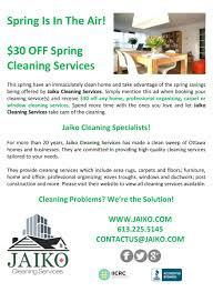30 off spring cleaning services u2013 jaiko cleaning services