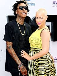 wiz khalifa and amber rose are married people com