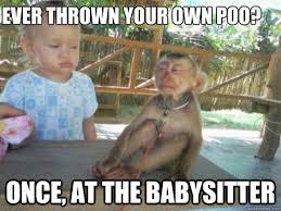 Baby Monkey Meme - baby and monkey memes quickmeme