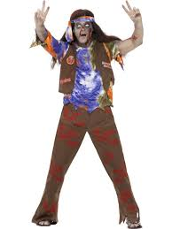 Matador Halloween Costumes Zombie 60s Hippie Costume 61106 Fancy Dress Ball