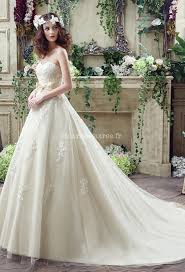 robe de mariã e traine robe de mariée princesse bustier dentelle