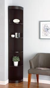 Kitchen Corner Display Cabinet Amazon Com Iohomes Tango 5 Shelves Corner Display Stand