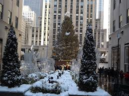 New York City Christmas Tree Ornament by Rockefeller Center Christmas Tree Decorations After A Snowfall