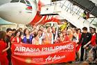 AIRASIA PHILIPPINES Welcomes 1st Airbus A320 at Macapagal.