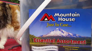 mountain house freeze dried survival food youtube