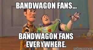 Blackhawks Meme - bandwagon fans bandwagon fans everywhere chicago blackhawks