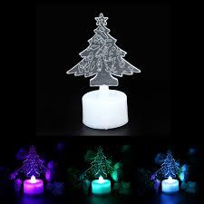 christmas tree night light christmas lights decoration