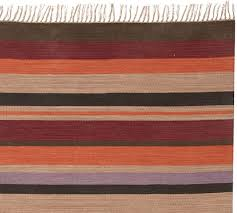 Stripe Indoor Outdoor Rug Gunner Stripe Indoor Outdoor Rug Pottery Barn