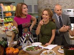 giada de laurentiis appears on the today show with two vegan