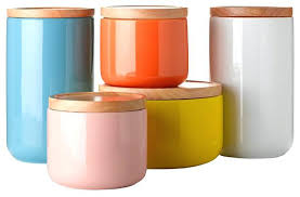 orange kitchen canisters canister sets for kitchen ceramic kitchen canister sets image of
