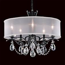 schonbek va8305n vesca 5 light chandelier with shade homeclick com