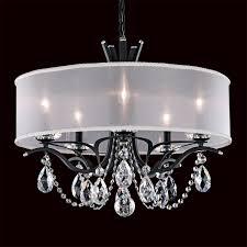 schonbek va8305n vesca 5 light chandelier with shade homeclick com