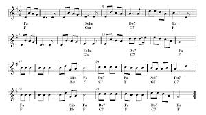 tenor sax christmas song jingle bells sheet music guitar