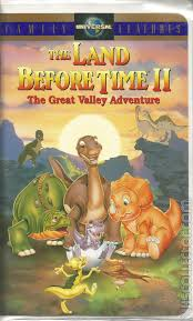 the land before time ii the great valley adventure vhscollector