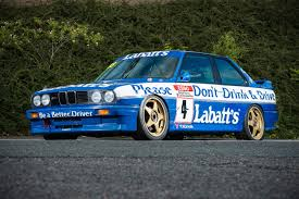 bmw e30 m3 bmw e30 m3 touring car to be auctioned for 200 000 in the uk