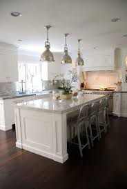 kitchen island white countertops backsplash traditional black wooden kitchen