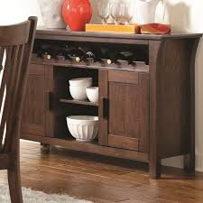 rivera dark merlot wood buffet table steal a sofa furniture