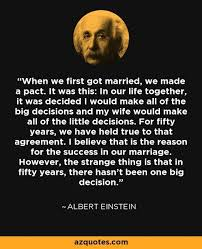 quotes did einstein say this about his marriage skeptics