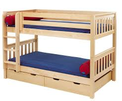 Maxtrix Low Bunk Bed H Bed Frames Maxtrix Furniture - Maxtrix bunk bed