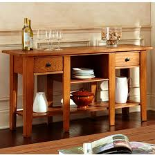 mission style console table amazing mission style console table