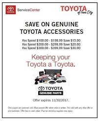 Iowa travel coupons images Toyota of iowa city parts and accessories specials and coupons in