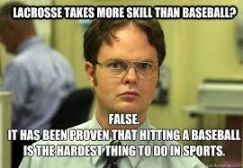 Lacrosse Memes - i hate lacrosse on twitter people who think lacrosse is harder