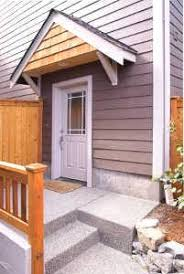 Wooden Awning Kits How To Build A Wood Awning Over A Door