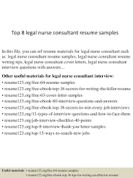 top 8 legal nurse consultant resume samples 1 638 jpg cb u003d1431077847