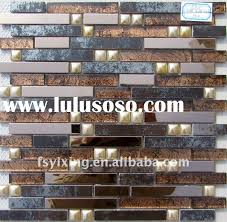 Glass Tile Backsplash Mirror Tiles Self Adhesive Mosaic Mirror - Peel and stick backsplash glass tiles