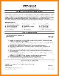 Sample Experienced Resume Software Engineer by 10 Sample Software Engineer Resume Basic Resume Layouts