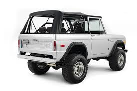 jeep bronco white early model ford bronco builds classic ford broncos