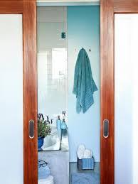 cool blue spa like bathroom hgtv