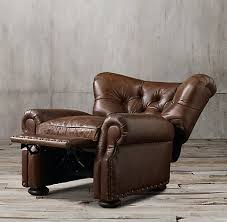 Chair And A Half Recliner Leather Recliners U0026 Swivels Rh
