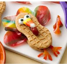 fruity feather turkey easy no bake thanksgiving food craft