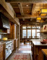 rustic kitchen cabinets kitchen rustic with cabin kitchen island