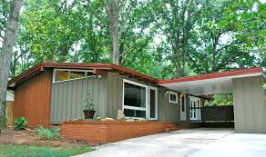 Mid Century Modern Ranch Atomic Ranch In Madison Park Charlotte Mid Mod Homes