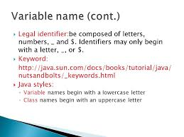 review java ppt download