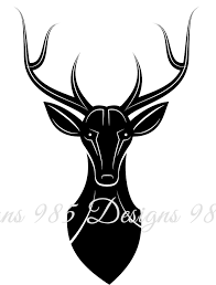 tribal deer svg for cricut and by 985 graphic designs on zibbet