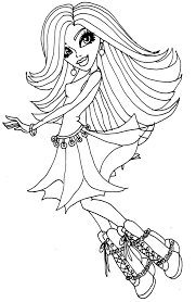 spectra vondergeist monster coloring coloring pages