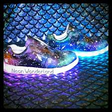 galaxy shoes light up light up sneakers in galaxy print galaxy print lights and printing