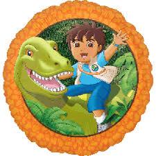 diego dinosaur foil balloon